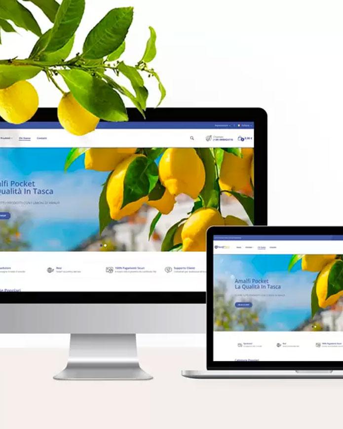 Sviluppo e-commerce prodotti tipici
