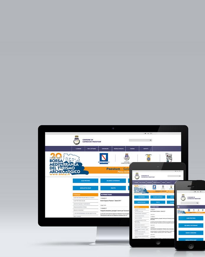 Sviluppo sito per Pubblica Amministrazione
