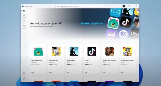 Windows 11 finalmente supporterà le app Android!